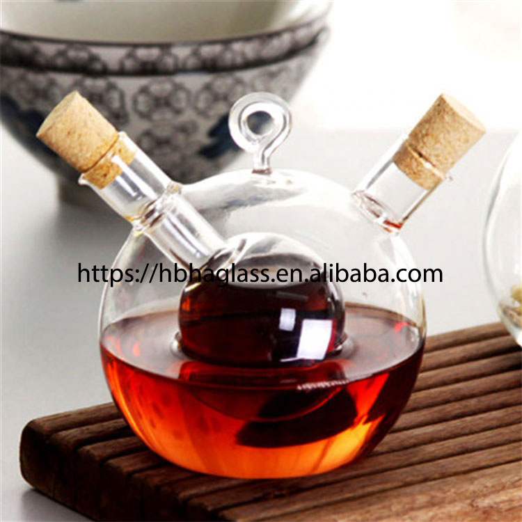 Kitchen Tools New Amazon Custom Logo Glass Vinegar OliveOil Sprayer Bottle For BBQ Salad Baking
